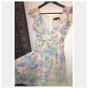 NastyGal Venus Floral Mini Dress